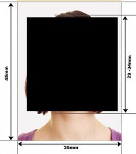 Образец фото на Визу на Мальту
